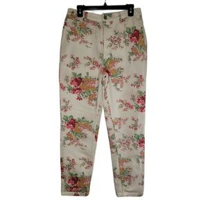 BDG Urban Outfitters Floral Mom High Rise Pants